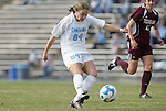 28 November 2008: North Carolina's Courtney Jones. The University of North Carolina Tar Heels defeated the Texas A&M University Aggies 1-0 in double overtime at Fetzer Field in Chapel Hill, North Carolina in a Fourth Round NCAA Division I Women's college soccer tournament game.