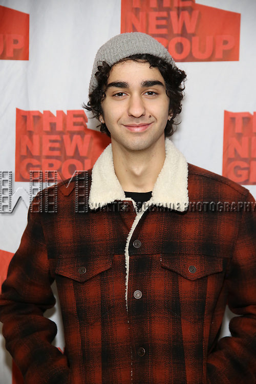 "Alex Wolff attends the New Group's ""All the Fine Boys"" rehearsal photocall at their rehearsal studio on February 3, 2017 in New York City."