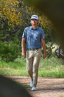Roger Sloan (CAN) makes his way to the tee on 2 during day 1 of the Valero Texas Open, at the TPC San Antonio Oaks Course, San Antonio, Texas, USA. 4/4/2019.<br /> Picture: Golffile   Ken Murray<br /> <br /> <br /> All photo usage must carry mandatory copyright credit (&copy; Golffile   Ken Murray)