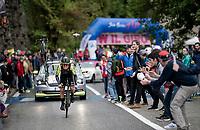 Esteban Chavez (COL/Mitchelton-Scott)<br /> <br /> Stage 9 (ITT): Riccione to San Marino (34.7km)<br /> 102nd Giro d'Italia 2019<br /> <br /> ©kramon