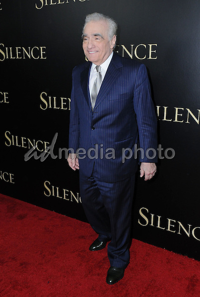 "05 January 2017 - West Hollywood, California - Martin Scorsese. ""Silence"" Los Angeles Premiere held at the Directors Guild of America. Photo Credit: Birdie Thompson/AdMedia"