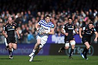 Ruaridh McConnochie of Bath Rugby goes on the attack. Gallagher Premiership match, between Exeter Chiefs and Bath Rugby on March 24, 2019 at Sandy Park in Exeter, England. Photo by: Patrick Khachfe / Onside Images