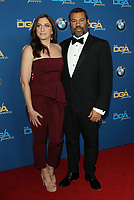 03 February 2018 - Los Angeles, California - Chelsea Peretti and Jordan Peele. 70th Annual DGA Awards Arrivals held at the Beverly Hilton Hotel in Beverly Hills. <br /> CAP/ADM<br /> &copy;ADM/Capital Pictures