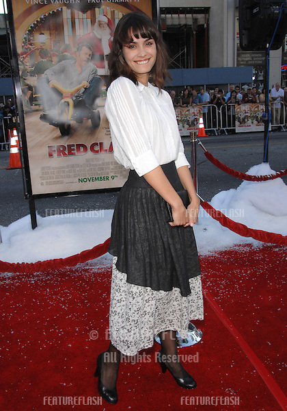 "Shannyn Sossamon at the Los Angeles premiere of ""Fred Claus"" at Grauman's Chinese Theatre, Hollywood, CA..November 3, 2007  Los Angeles, CA.Picture: Paul Smith / Featureflash"