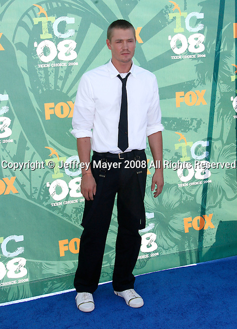 Actor Chad Michael Murray arrives at the 2008 Teen Choice Awards at the Gibson Amphitheater on August 3, 2008 in Universal City, California.