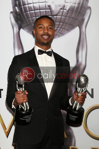 Michael B. Jordan<br /> at the 47TH NAACP Image Awards Press Room, Pasadena Civic Auditorium, Pasadena, CA 02-05-16<br /> David Edwards/DailyCeleb.com 818-249-4998