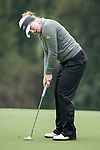Sally Watson of Scotland putts on the green during Round 2 of the World Ladies Championship 2016 on 11 March 2016 at Mission Hills Olazabal Golf Course in Dongguan, China. Photo by Lucas Schifres / Power Sport Images