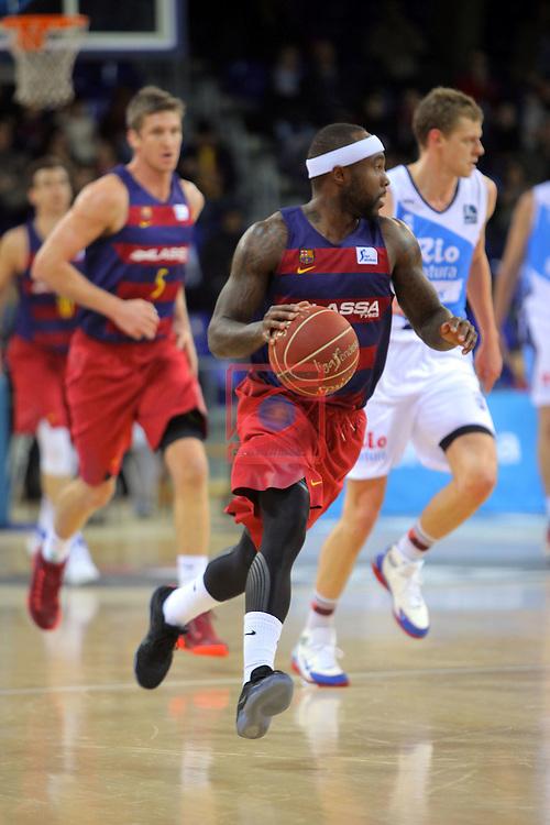 League ACB-ENDESA 2016/2017 - Game: 16.<br /> FC Barcelona Lassa vs Rio Natura Monbus Obradoiro: 100-76.<br /> Tyrese Rice.