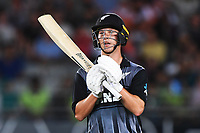 Ben Wheeler.<br /> Pakistan tour of New Zealand. T20 Series.2nd Twenty20 international cricket match, Eden Park, Auckland, New Zealand. Thursday 25 January 2018. &copy; Copyright Photo: Andrew Cornaga / www.Photosport.nz