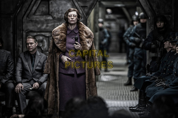 Tilda Swinton<br /> in Snowpiercer (2013) <br /> *Filmstill - Editorial Use Only*<br /> CAP/FB<br /> Image supplied by Capital Pictures