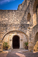 The Convento at Mission San Hose at the San Antonio Missions National Historic Park, provided a residence for the missionarys.
