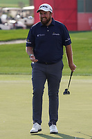 Shane Lowry (IRL) on the 9th during the Pro-Am of the Abu Dhabi HSBC Championship 2020 at the Abu Dhabi Golf Club, Abu Dhabi, United Arab Emirates. 15/01/2020<br /> Picture: Golffile | Thos Caffrey<br /> <br /> <br /> All photo usage must carry mandatory copyright credit (© Golffile | Thos Caffrey)
