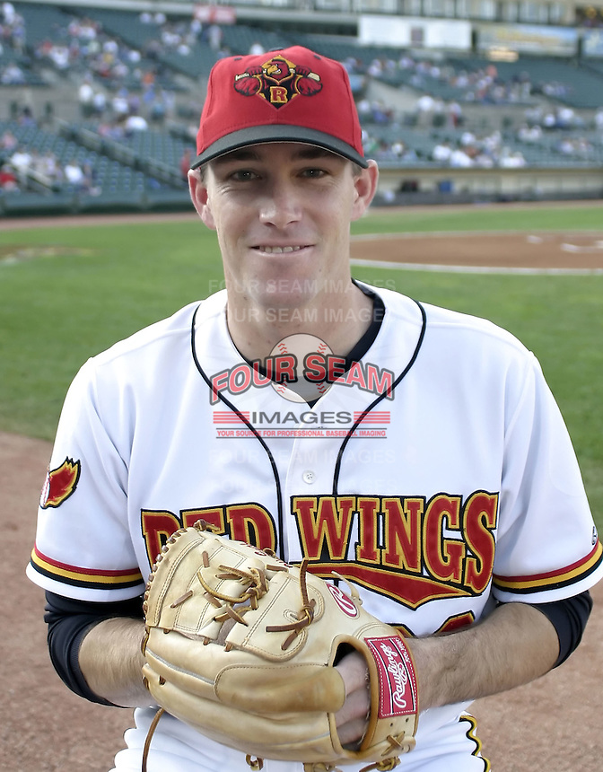 August 11, 2004:  Pitcher Willie Eyre of the Rochester Red Wings, Triple-A International League affiliate of the Minnesota Twins, during a game at Frontier Field in Rochester, NY.  Photo by:  Mike Janes/Four Seam Images