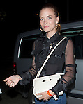 June 5th 2012 ...Jaime King wearing a see through black lace blouse shirt dress carrying a white purse walking into the Chateau Marmont in HOllywood ...AbilityFilms@yahoo.com.805 427 3519.www.AbilityFilms.com
