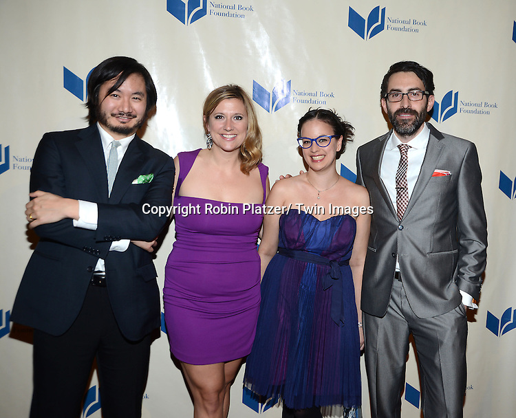 Tumblr group  attend the 2013 National Book Awards Dinner and Ceremony on November 20, 2013 at Cipriani Wall Street in New York City.