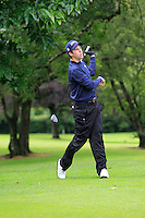 Alex Gleeson (Castle) on the 3rd tee during round 1 of The Mullingar Scratch Cup in Mullingar Golf Club on Sunday 3rd August 2014.<br /> Picture:  Thos Caffrey / www.golffile.ie
