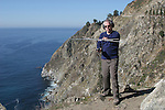 Tracking condor in Big Sur