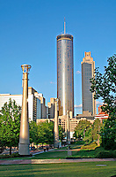 Centennial Olympic Park downtown Atlanta Georgia