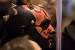Darth Maul cosplay at Expocomic 2016 in Madrid, Spain. December 03, 2016. (ALTERPHOTOS/BorjaB.Hojas)