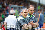Kerry Manager Peter Keane in the Munster Minor Football Final at Fitzgerald Stadium on Sunday.