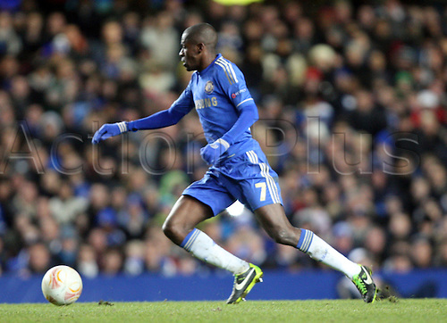 21.02.2013. London, England. Ramires of Chelsea during the UEFA Europa League, Round of 32,  2nd Leg game between Chelsea and Sparta Prague from Stamford Bridge Stadium......