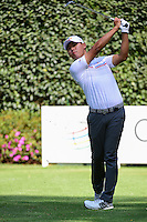 Si Woo Kim (KOR) watches his tee shot on 3 during round 1 of the World Golf Championships, Mexico, Club De Golf Chapultepec, Mexico City, Mexico. 3/2/2017.<br /> Picture: Golffile | Ken Murray<br /> <br /> <br /> All photo usage must carry mandatory copyright credit (&copy; Golffile | Ken Murray)