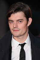 "Sam Riley<br /> at the London Film Festival 2016 premiere of ""Free Fire at the Odeon Leicester Square, London.<br /> <br /> <br /> ©Ash Knotek  D3182  16/10/2016"