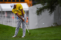 Tiger Woods (USA) hits his approach shot on 1 during Rd3 of the 2019 BMW Championship, Medinah Golf Club, Chicago, Illinois, USA. 8/17/2019.<br /> Picture Ken Murray / Golffile.ie<br /> <br /> All photo usage must carry mandatory copyright credit (© Golffile   Ken Murray)
