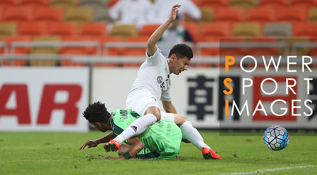 AL AHLI (KSA) vs NASAF (UZB) during their AFC Champions League Group D match on 25 February 2016 held at the King Abdullah Sports City, in Jeddah, Saudi Arabia. Photo by Stringer / Lagardere Sports