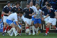Alessandro ZANNI e Carlo Festuccia (Italia)<br /> Italia vs Francia - Italy Vs France<br /> RBS 6 Nations Rugby Championship 2011<br /> Stadio Flaminio;<br /> Roma, 12/03/2011<br /> Photo Antonietta Baldassarre Insidefoto