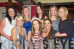 Linda Crossan, Ballycasheen, Killarney pictured with Edel Daly, Elaine O'Neill, Rosmarie O'Connor, Marie Cummins, Carrie Clifford, Tracey Flynn and Danielle O'Shea as she celebrated her 30th birthday in The Laune Bar, Killarney on Saturday night.