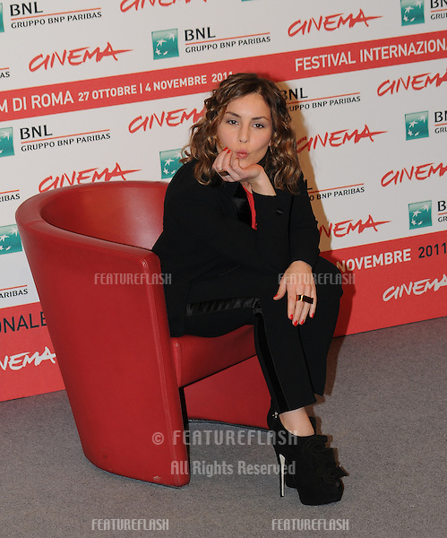 "Noomi Rapace attends the photocall of ""Babycall"" during the 6th International Rome Film Festival..October 31, 2011, Rome, Italy.Picture: Catchlight Media / Featureflash"