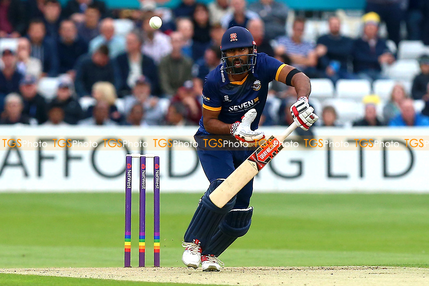 Varun Chopra in batting action for Essex during Essex Eagles vs Middlesex, NatWest T20 Blast Cricket at The Cloudfm County Ground on 11th August 2017