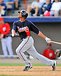 4 March 2011: Atlanta Braves catcher Christian Bethancourt in action during a Spring Training game against the Washington Nationals at Space Coast Stadium in Viera, Florida. The Braves defeated the Nationals 6-4 in Grapefruit League action. Mandatory Credit: Ed Wolfstein Photo