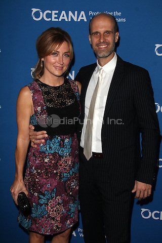 BEVERLY HILLS, CA - SEPTEMBER 28: Sasha Alexander, Edoardo Ponti at the Concert for Our Oceans hosted by Seth MacFarlane benefitting Oceana at the Wallis Annenberg Center for the Performing Arts on September 28, 2015. Credit: David Edwards/MediaPunch