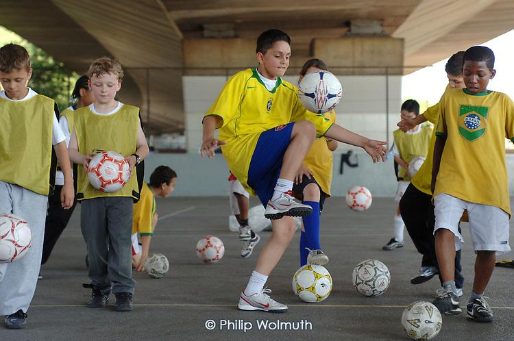 Samba Soccer Club, Westbourne Green Sports Centre