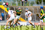 Kerry's Captain Shane Conway  at The Electric Ireland All-Ireland B Championship quarter final Kerry V Kildare at Austin Stack Park on Saturday