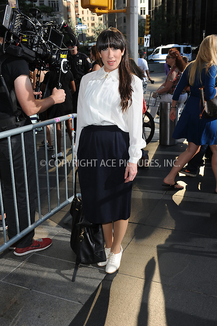 WWW.ACEPIXS.COM <br /> July 28, 2014 New York City<br /> <br /> Colleen Martin, professionally known as Lady Starlight arrives to the Jazz at Lincoln Center on July 28, 2014 in New York City.<br /> <br /> Please byline: Kristin Callahan/ACE Pictures<br /> <br /> ACEPIXS.COM<br /> Ace Pictures, Inc<br /> tel: (212) 243 8787 or (646) 769 0430<br /> e-mail: info@acepixs.com<br /> web: http://www.acepixs.com