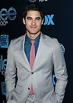 """Darren Criss arriving at the"""" GLEE 100th Episode Celebration"""" held at Chateau Marmont West Hollywood, Ca. March 18, 2014."""
