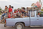Over Crowded Car