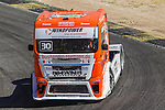 German driver Sascha Lenz belonging German team Sascha Lenz during the third race R3 of the XXX Spain GP Camion of the FIA European Truck Racing Championship 2016 in Madrid. October 02, 2016. (ALTERPHOTOS/Rodrigo Jimenez)