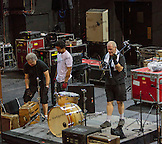 Setting it all up.  From the load in to sound check.  Crosby, Stills & Nash at the Olympia in Paris, France.