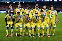 squadra napoli    durante l'incontro di calcio di Champions Leahue  Napoli Arsenal allo  Stadio San Paolo  di Napoli , 13 Dicembre  2013<br /> Foto Ciro De Luca