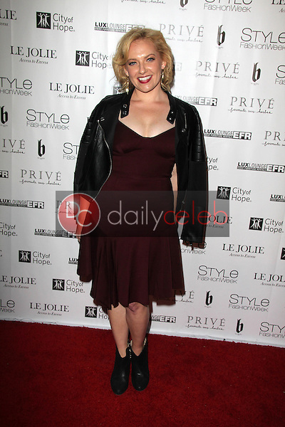 Heather Lee Moss<br /> at Sue Wong's 'Fairies and Sirens' Fashion Show at L.A. Fashion Week. The Reef, Los Angeles, CA 10-15-14<br /> David Edwards/Dailyceleb.com 818-249-4998
