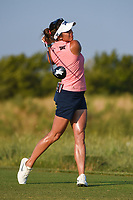 Gerina Piller (USA) watches her tee shot on 1 during the round 3 of the Volunteers of America Texas Classic, the Old American Golf Club, The Colony, Texas, USA. 10/5/2019.<br /> Picture: Golffile   Ken Murray<br /> <br /> <br /> All photo usage must carry mandatory copyright credit (© Golffile   Ken Murray)