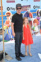 "David Spade & Harper Spade at the world premiere for ""Hotel Transylvania 3: Summer Vacation"" at the Regency Village Theatre, Los Angeles, USA 30 June 2018<br /> Picture: Paul Smith/Featureflash/SilverHub 0208 004 5359 sales@silverhubmedia.com"