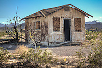 Abandoned Buildings Route 66 Ludlow California.