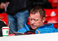 Bolton Wanderers supporters enjoying the pre-match atmosphere<br /> <br /> Photographer Andrew Kearns/CameraSport<br /> <br /> The EFL Sky Bet Championship - Nottingham Forest v Bolton Wanderers - Sunday 5th May 2019 - The City Ground - Nottingham<br /> <br /> World Copyright © 2019 CameraSport. All rights reserved. 43 Linden Ave. Countesthorpe. Leicester. England. LE8 5PG - Tel: +44 (0) 116 277 4147 - admin@camerasport.com - www.camerasport.com