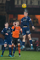 27th December 2019; Dens Park, Dundee, Scotland; Scottish Championship Football, Dundee Football Club versus Dundee United; Jordan Marshall of Dundee from Lawrence Shankland of Dundee United  - Editorial Use