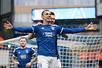 Kayden Jackson of Ipswich Town celebrates the opening goal during Ipswich Town vs Accrington Stanley, Sky Bet EFL League 1 Football at Portman Road on 11th January 2020